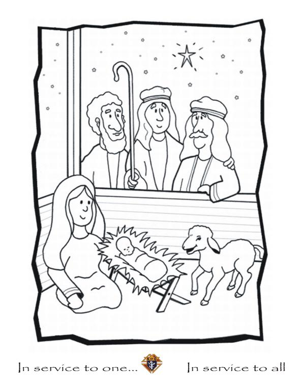Port Hope Knights Colouring Pages