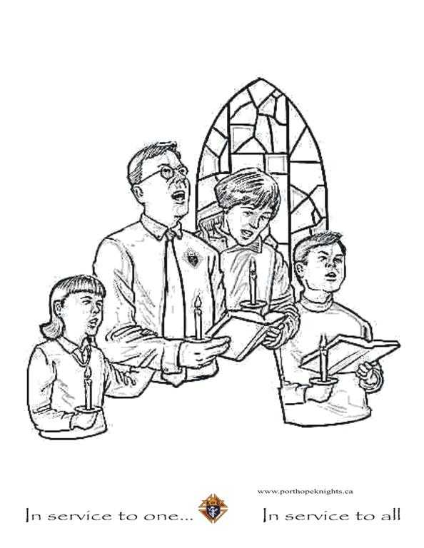 catholic coloring pages mass - photo#10